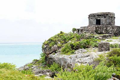 Photograph - Tulum Ruins 6 by Rachel Munoz Striggow