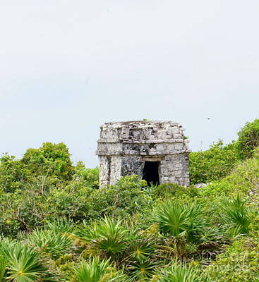 Photograph - Tulum Ruins 8 by Rachel Munoz Striggow