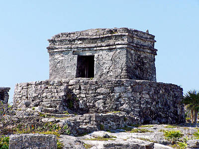 Photograph - Tulum Ruins Of Mexico - 3 by Tom Doud