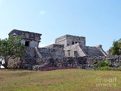 Photograph - Tulum Ruins Of Mexico - 6 by Tom Doud