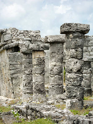 Photograph - Tulum by Silvia Bruno