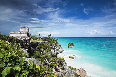 Mexico Photograph - Tulum by Yuri Santin