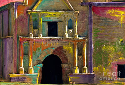 Painting - Tumacacori Mission by Cindy McIntyre