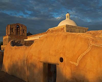 Photograph - Tumacacori Mission Ne Corner by Tom Daniel