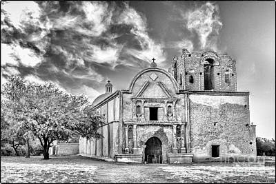 Digital Art - Tumacacori National Historical Park Church by Georgianne Giese