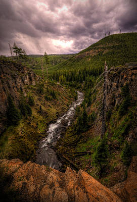 Photograph - Tumalo Creek by Matt Hanson