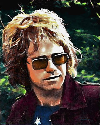 Elton John Digital Art - Tumbleweed by John Travisano