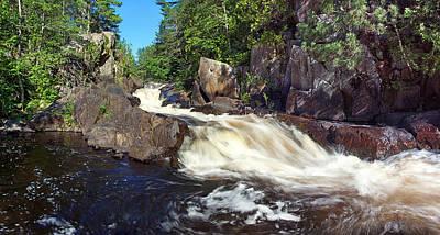 Photograph - Tumbling Falls by Leda Robertson
