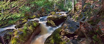 Photograph - Tumbling Waters by Leda Robertson