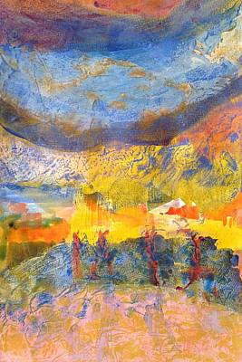 Stormy Weather Mixed Media - Tumultuous Squall by Rick Hurst