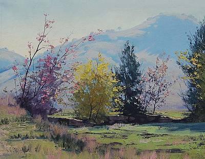 Realist Painting - Tumut Spring by Graham Gercken