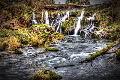 Photograph - Tumwater Falls  by Barry Jones