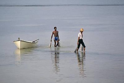 Indians Photograph - Tuna Fisherrmen by Buddy Mays