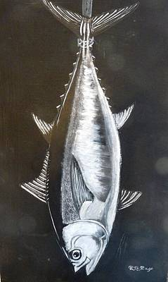 Painting - Tuna by Richard Le Page
