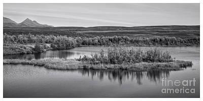 Upland Photograph - Tundra Pond Reflections by Priska Wettstein
