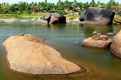 Karnataka Photograph - Tungabhadra-athampi by Rbb