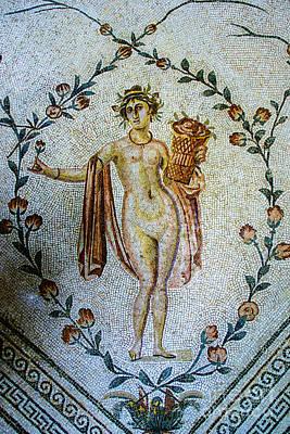 Photograph - Tunis Roman Godess by Rick Bragan