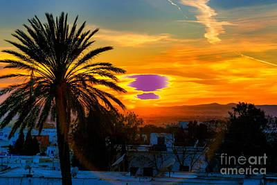 Photograph - Tunis Sunrise by Rick Bragan