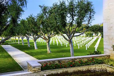 Photograph - Tunis War Memorial by Rick Bragan