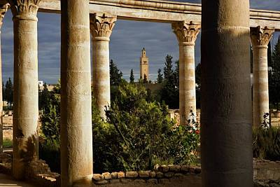 Tunisia. El Djem. Archeological Art Print
