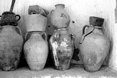 Art Print featuring the photograph Tunisian Pottery by Randi Grace Nilsberg