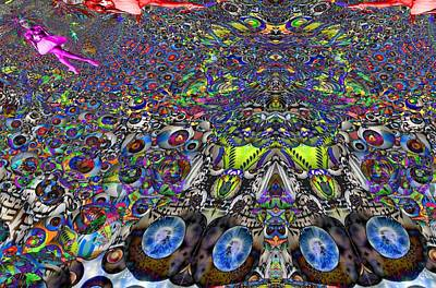 Mexican Dance Digital Art - Tunnel Dance 2 by Jason Saunders