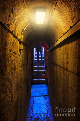 Dungeon Photograph - Tunnel Exit by Carlos Caetano