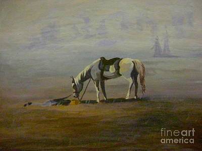 Painting - Tunnel Hill's Loyalty by Gretchen Allen