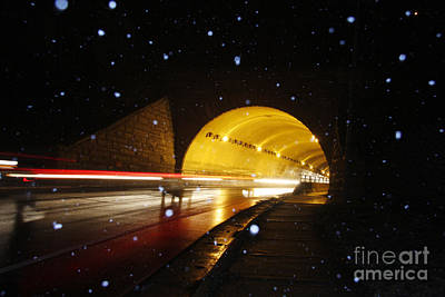 Tunnel Art Print by Jonathan Welch
