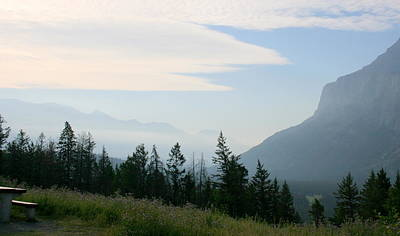 Photograph - Tunnel Mountain Camping by Betty-Anne McDonald