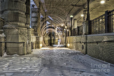 Photograph - Tunnel Of Fire by Steven K Sembach