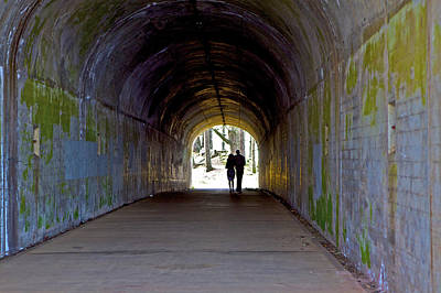 Photograph - Tunnel Of Love by SC Heffner