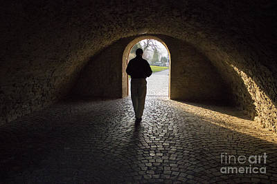 Photograph - Tunnel Silhouette by Morgan Wright