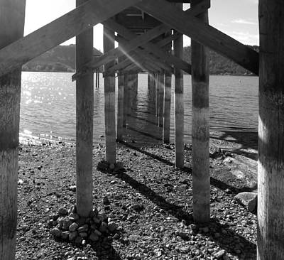 Clearlake Photograph - Tunnel Under The Pier by Fabien White