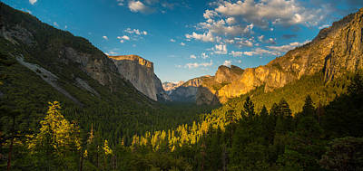 Photograph - Tunnel View Sunset by Mike Lee