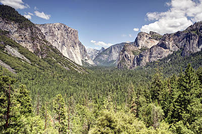 Sausalito Photograph - Tunnel View Yosemite by Chris Frost