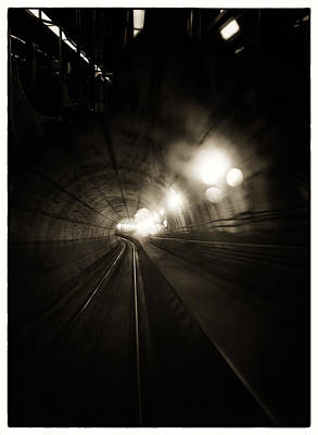 Photograph - Tunnel Vision 1 by Lenny Carter