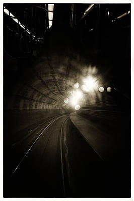 Photograph - Tunnel Vision 2 by Lenny Carter