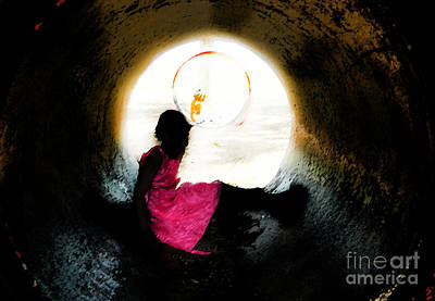 Tunnel Vision Gc Art Print