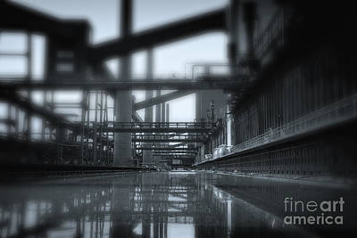 Industry Photograph - Tunnel Vision by Jan Brons