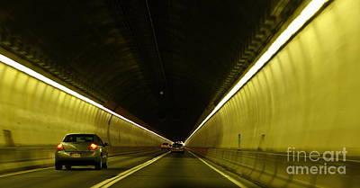Marcia Lee Jones Photograph - Tunnel Vision by Marcia L Jones