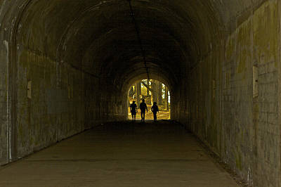 Photograph - Tunnel Vision Trio by SC Heffner