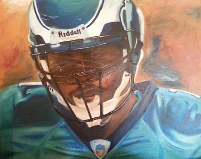 Vick Painting - Tunnel Vision by Willie Porter