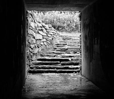Photograph - Tunnel Walkway  by Betty  Pauwels