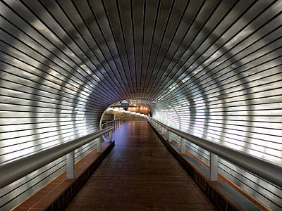 Photograph - Tunneling In New Haven by Cornelis Verwaal