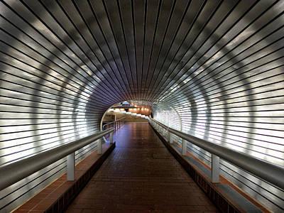 Tunneling In New Haven Art Print by Cornelis Verwaal