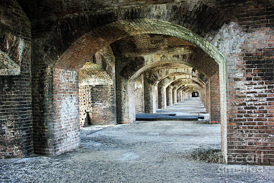 Photograph - Tunnels Of Fort Jefferson by Alison Tomich