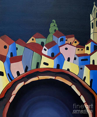 Painting - Tunnels Of Guanajuato by Barbara McMahon
