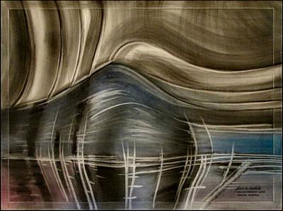 Pastel - Tunnelscapeb 2010 by Glenn Bautista