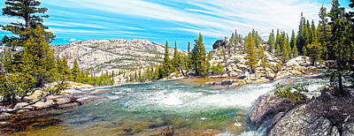 Digital Art - Tuolumne River Bend by Steven Barrows
